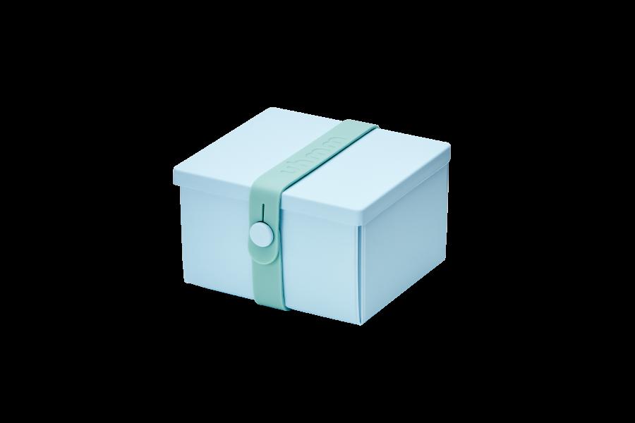 No 02 light blue box mint strap - Light blue and mint green ...