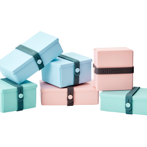 Light Blue, Mint Green & Pink Boxes